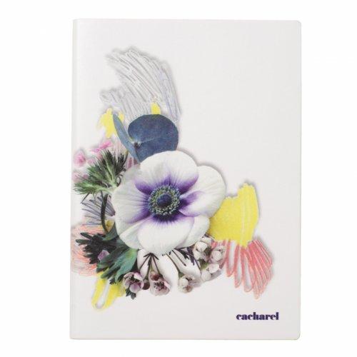 CACHAREL - Madeleine White Notebook A5 - Zápisník