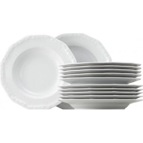 ROSENTHAL - Maria White Dinner Set 12 - Obedová súprava