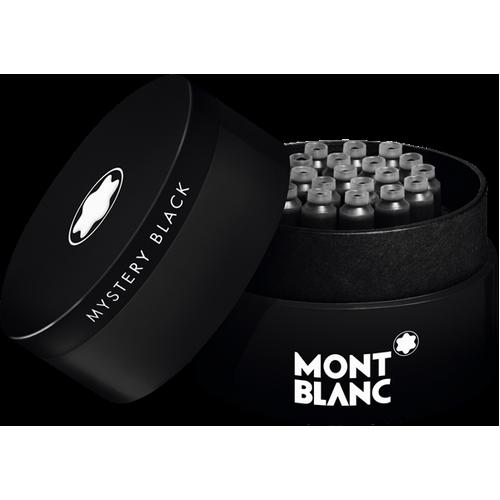 MONTBLANC - Mystery Black - Atramentové bombičky