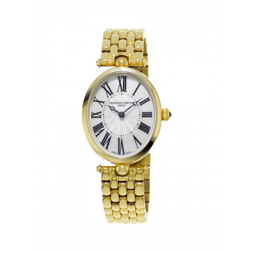 FREDERIQUE CONSTANT - Classique Art Deco Oval YG - Dámske hodinky