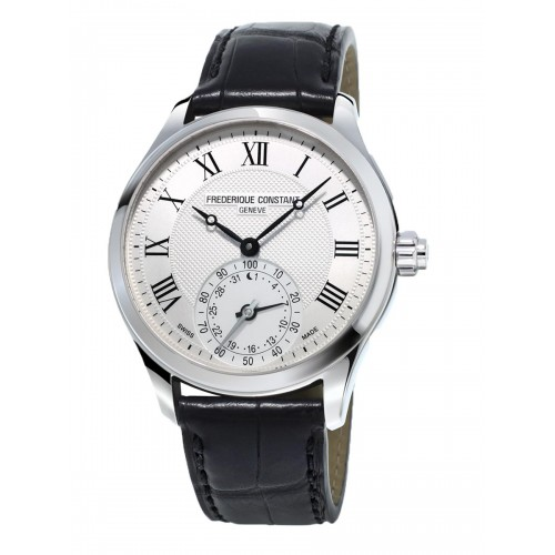 FREDERIQUE CONSTANT - Horological Smart Watch Silver Classique - Pánske hodinky