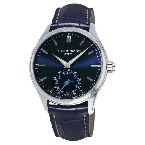 FREDERIQUE CONSTANT - Horological Smart Watch Navy Blue Classique - Pánske hodinky