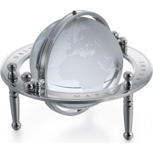DALVEY - Gimbal Desk Globe  - Kryštálový glóbus