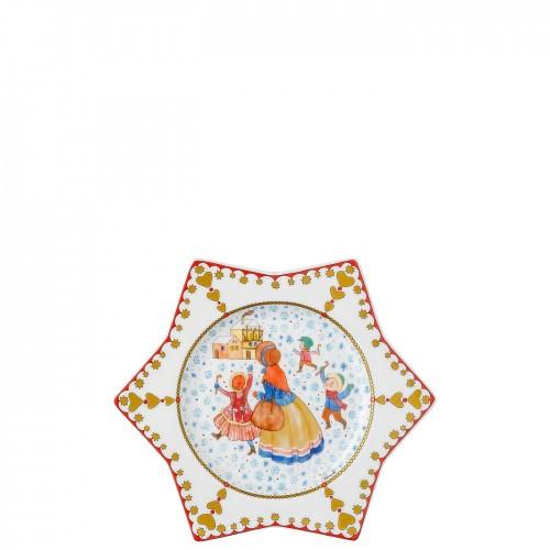 HUTSCHENREUTHER 1814 - Sammelkollektion 19 - Vianočný tanier 20 cm