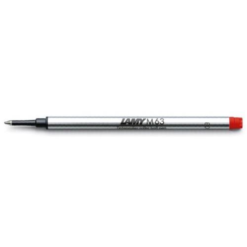 LAMY - Náplň do rolleru červená, M 63