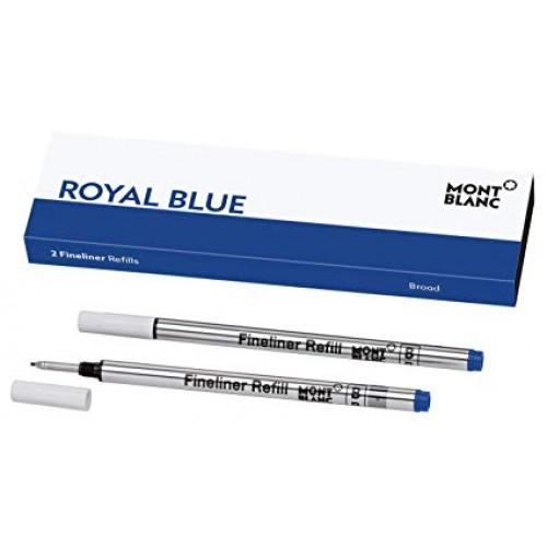 MONTBLANC - Classique Royal Blue - Náplň do rollera -M-