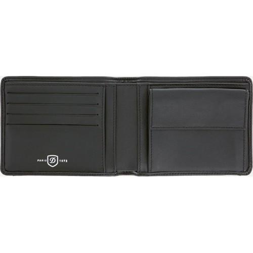 S.T. DUPONT - DÉFI MILLENIUM Billfold 4cc w.Coin Case - Kožená peňaženka