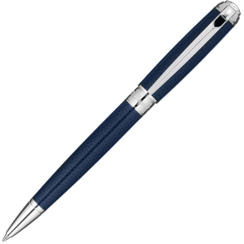 S.T. DUPONT - Line D MEDIUM GL Blue Lacquer BP - Guľôčkové pero