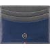 S.T. DUPONT - Line D CC Holder Grey/Blue - Puzdro na karty