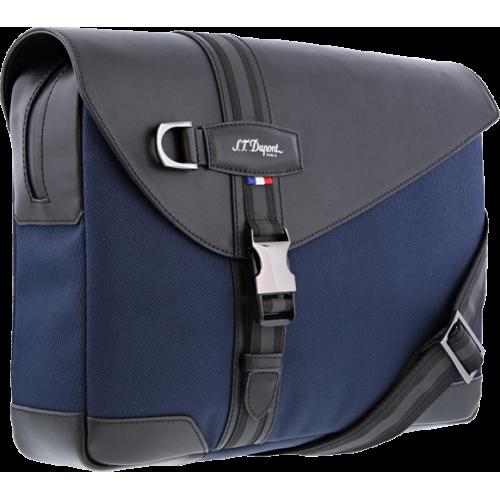 S.T. DUPONT - DÉFI MILLENIUM Blue-Black - Messenger Bag