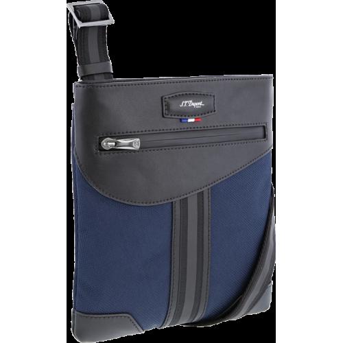 S.T. DUPONT - DÉFI MILLENIUM Blue-Black Small Bag - Malá mestská taška
